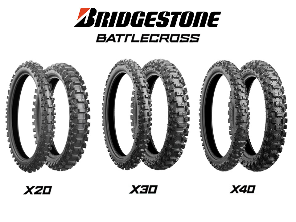 Bridgestone Battlecross X20 - X30 - X40