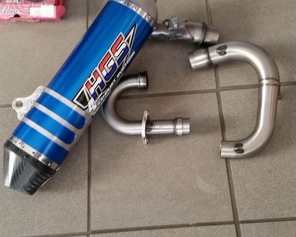 HGS 4-stroke exhaust system