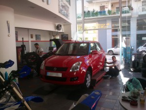 Suzuki Swift service